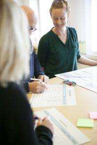 Visualiseringsprodukter för Lean inom produktion, administration samt vård och omsorg