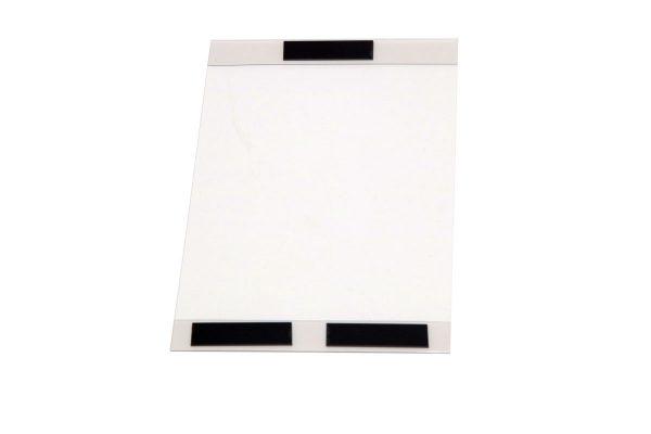 Magnetisk plastficka för A4 papper stående