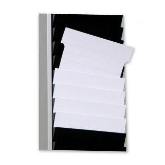 T-kort vita för utskrift på A4-ark