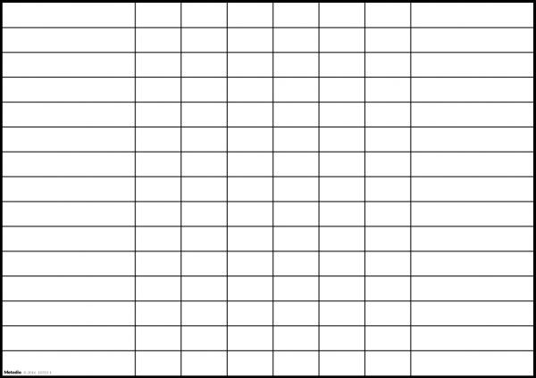 Extra rader till tabell för veckoplanering personal