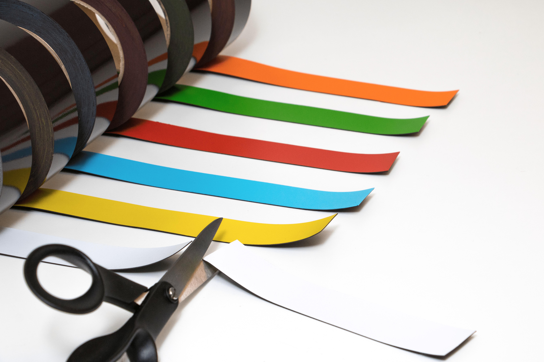 Fantastisk Magnetband i olika färger, 10m rulle - Metodio DZ-65