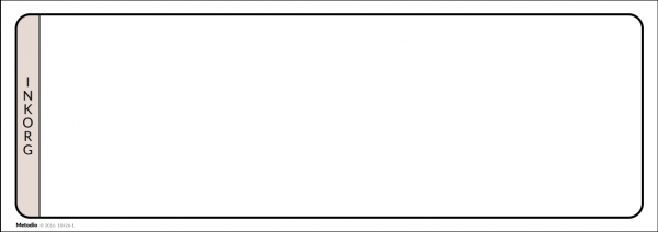 Magnetisk ruta för Post-It lappar: Pågående