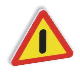 Varningsskylt magnet