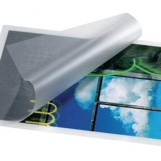 Lamineringsficka för inplastning av papper