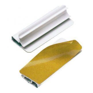 Pappersklämma Varioclip med klisterbaksida
