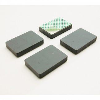 Självhäftande blockmagneter (magnetblock) för uppsättning av whiteboardtavla