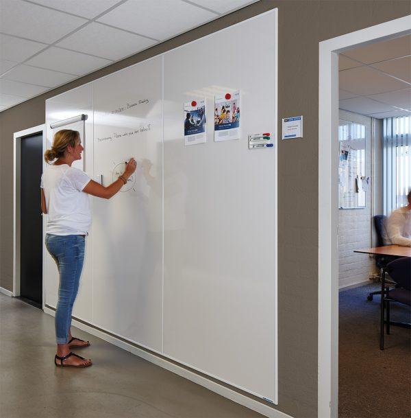 Whiteboard wall solution, whiteboardvägg, whiteboardväggar