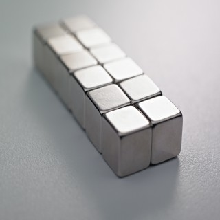 Magneter för glastavlor, CUBE 12 stycken, 10x10x10 mm
