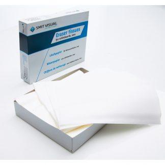 Papper för whiteboardsudd PRO, 10 stycken